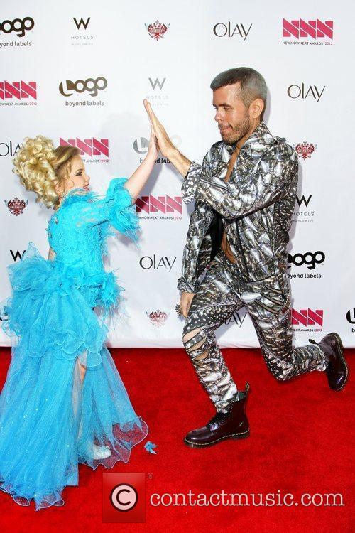 Eden Wood and Perez Hilton LOGO's 2012 'NewNowNext'...