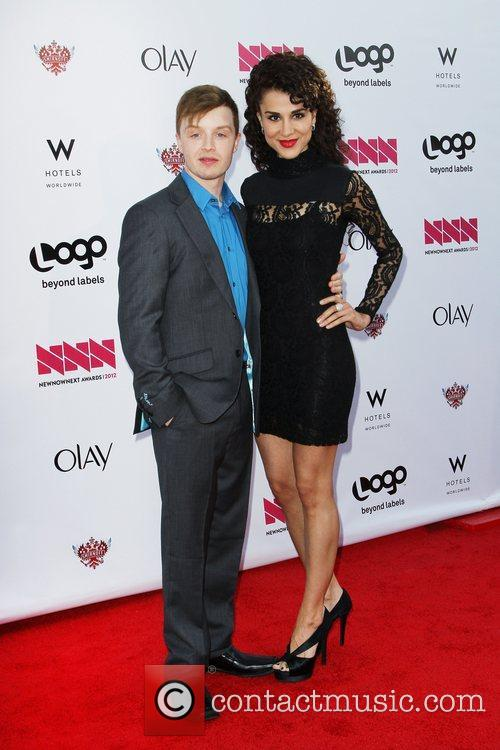 Noel Fisher And Guest LOGO's 2012 'NewNowNext' Awards...