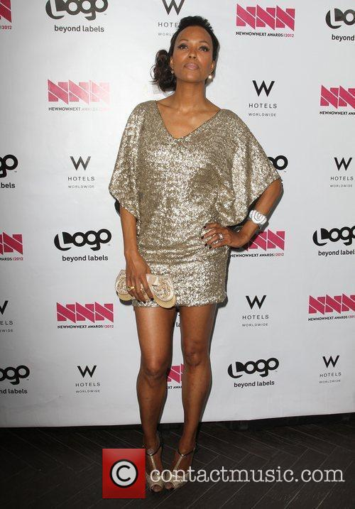 Aisha Tyler W Hotel's Private Lounge at LOGO's...