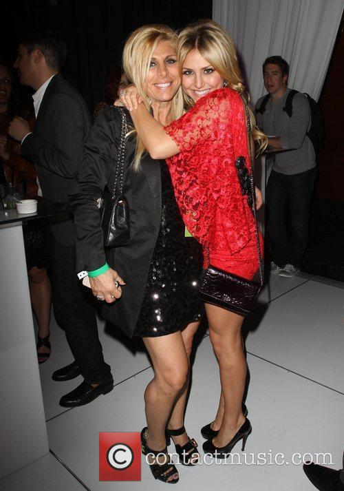 Cassie Scerbo with her Mother Donna W Hotel's...