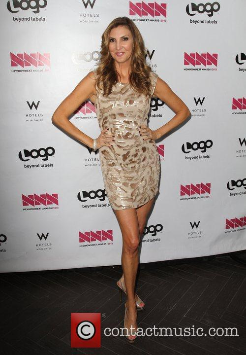 Heather McDonald W Hotel's Private Lounge at LOGO's...