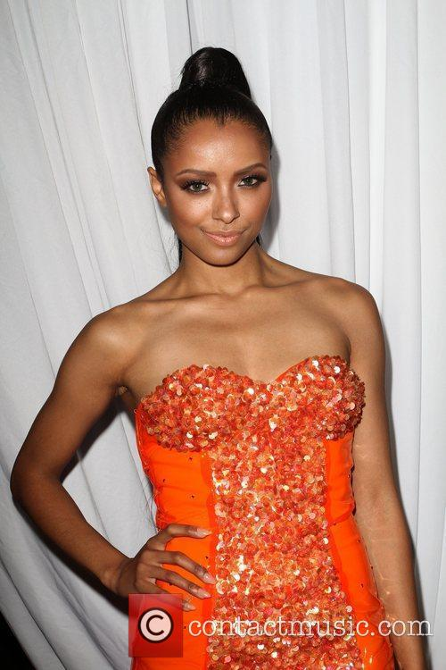 Kat Graham W Hotel's Private Lounge at LOGO's...