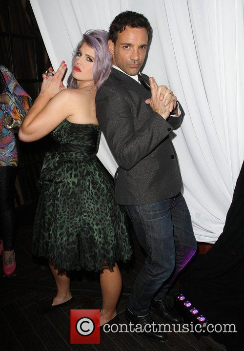 Kelly Osbourne, George Kotsiopoulos W Hotel's Private Lounge...