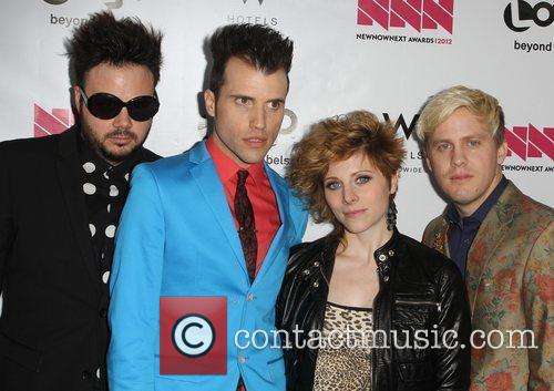 Neon Trees W Hotel's Private Lounge at LOGO's...
