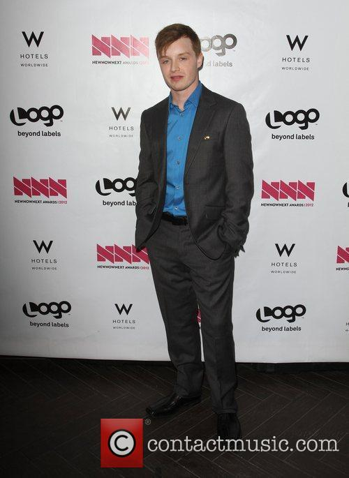 Noel Fisher W Hotel's Private Lounge at LOGO's...
