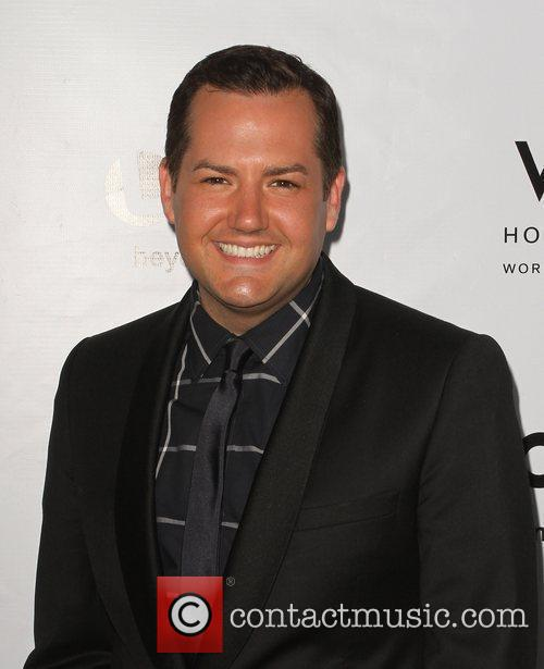 Ross Mathews W Hotel's Private Lounge at LOGO's...