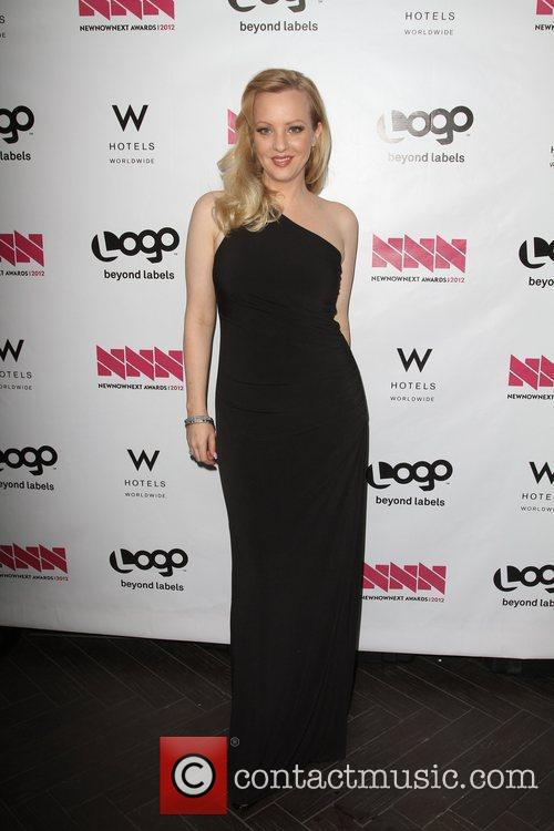 Wendi McLendon-Covey W Hotel's Private Lounge at LOGO's...