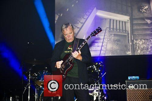 English rock band New Order  perform live...