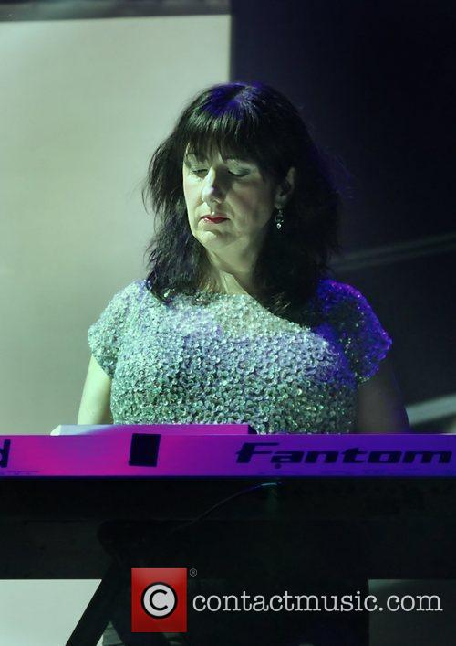 gillian gilbert new order perform at the 3850669