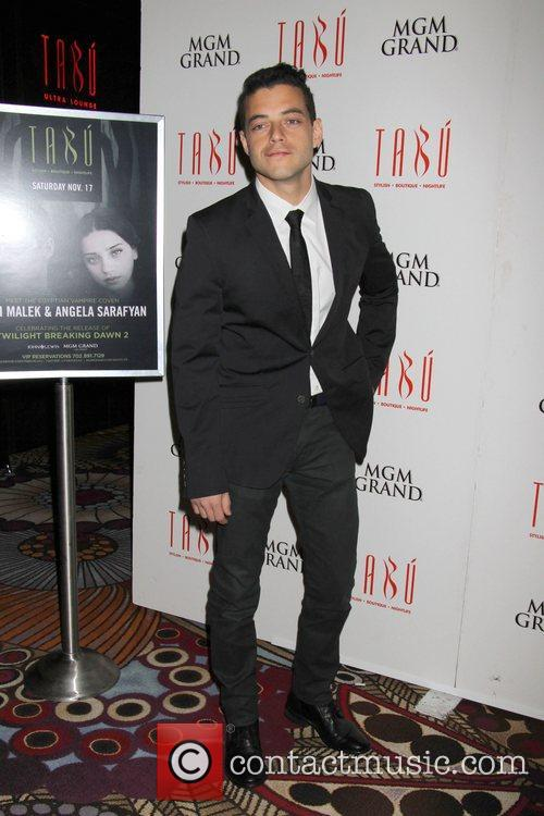Rami Malek, Twilight Saga, Breaking Dawn, Tabu Nightclub, Grand Hotel, Casino and Las Vegas 3