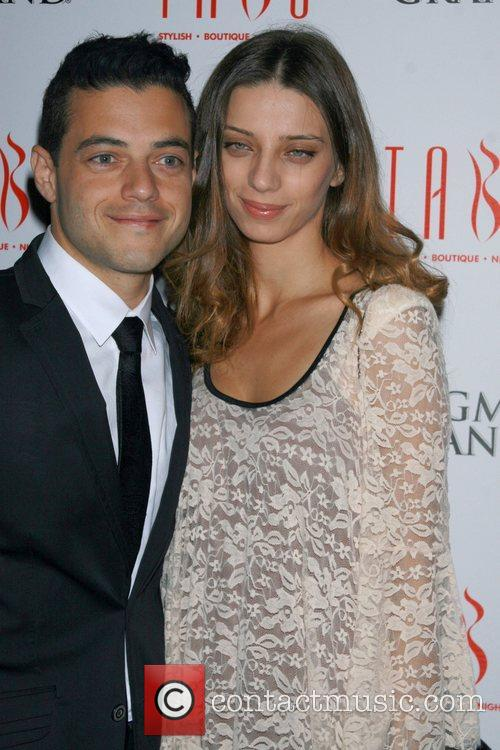 angela sarafyan and rami malek from the 4179684