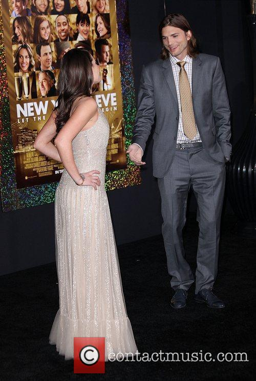 Lea Michele, Ashton Kutcher and Grauman's Chinese Theatre 9