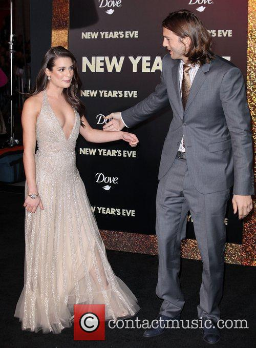 Lea Michele, Ashton Kutcher and Grauman's Chinese Theatre 7