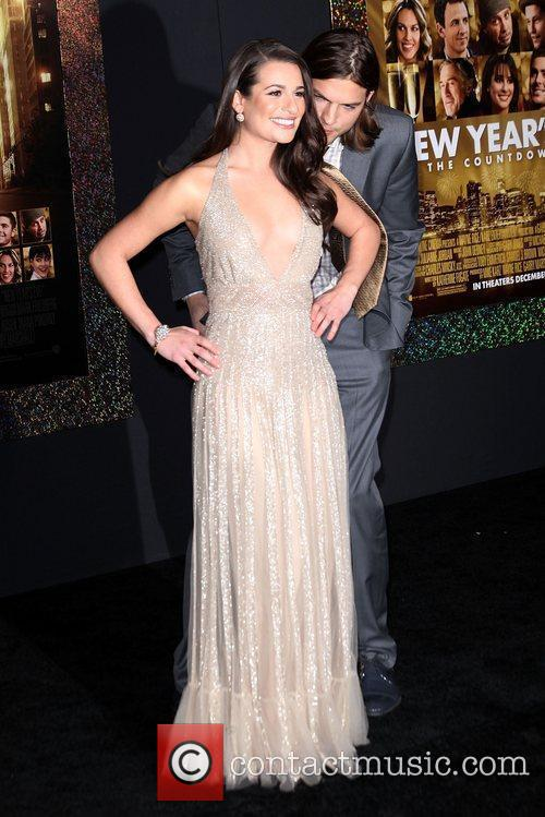 Lea Michele, Ashton Kutcher and Grauman's Chinese Theatre 1