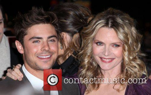 Zac Efron, Michelle Pfeiffer and Grauman's Chinese Theatre 2