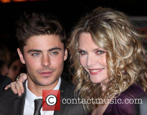 Zac Efron, Michelle Pfeiffer and Grauman's Chinese Theatre 5