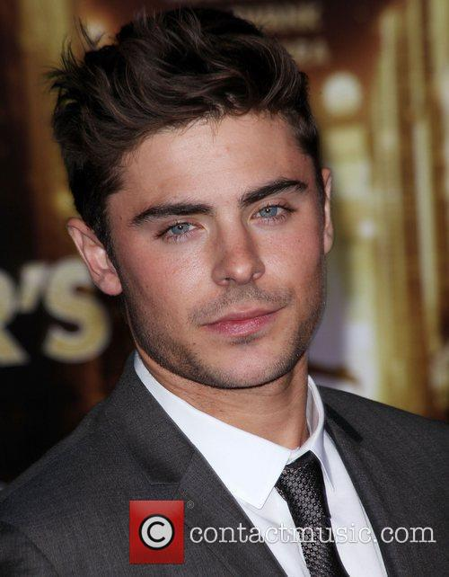 Zac Efron and Grauman's Chinese Theatre 4