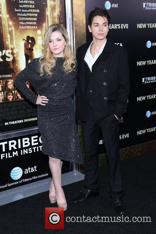 Abigail Breslin and Ziegfeld Theatre 4
