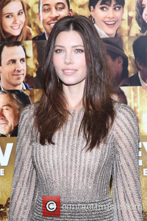 Jessica Biel and Ziegfeld Theatre 2