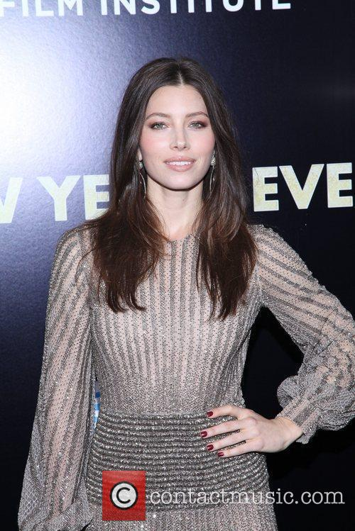 Jessica Biel and Ziegfeld Theatre 4