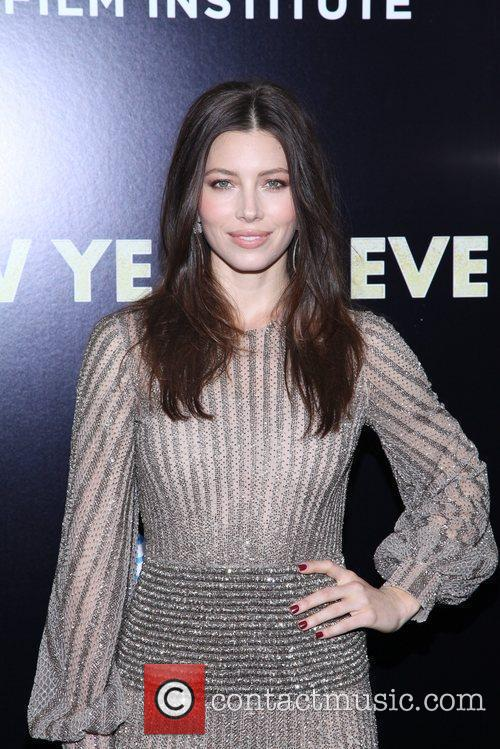 Jessica Biel and Ziegfeld Theatre 7