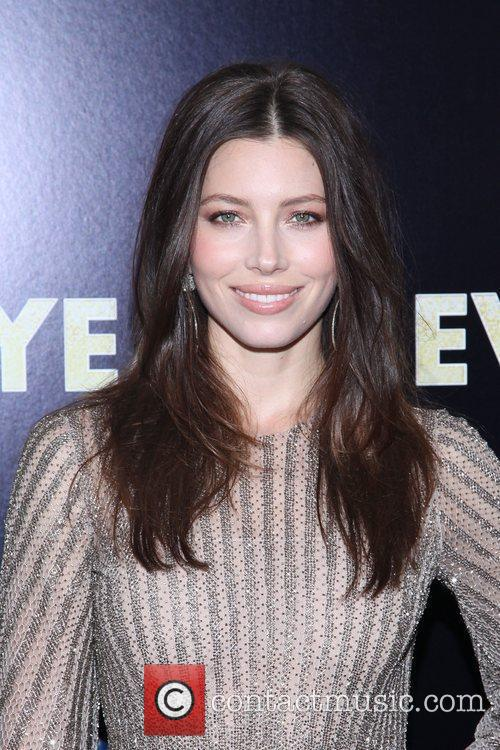 Jessica Biel and Ziegfeld Theatre 6