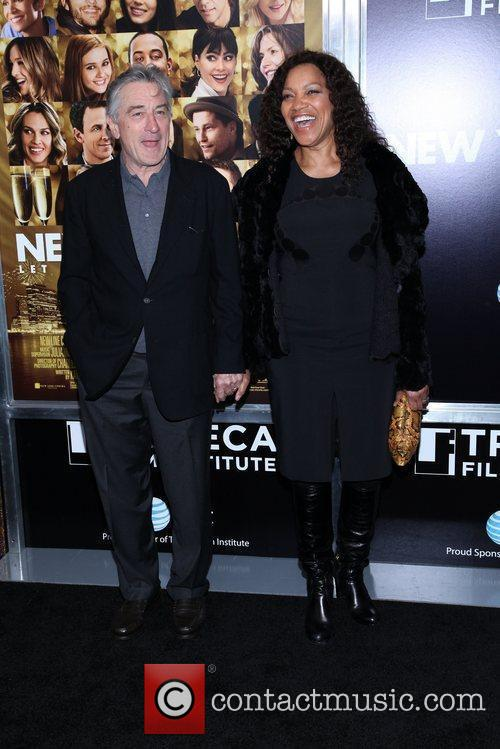 Robert De Niro, Grace Hightower and Ziegfeld Theatre 2