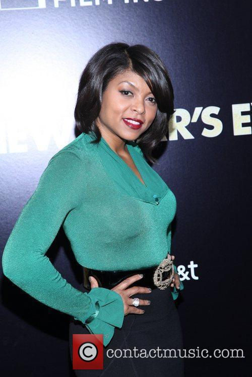 Taraji P Henson and Ziegfeld Theatre 2