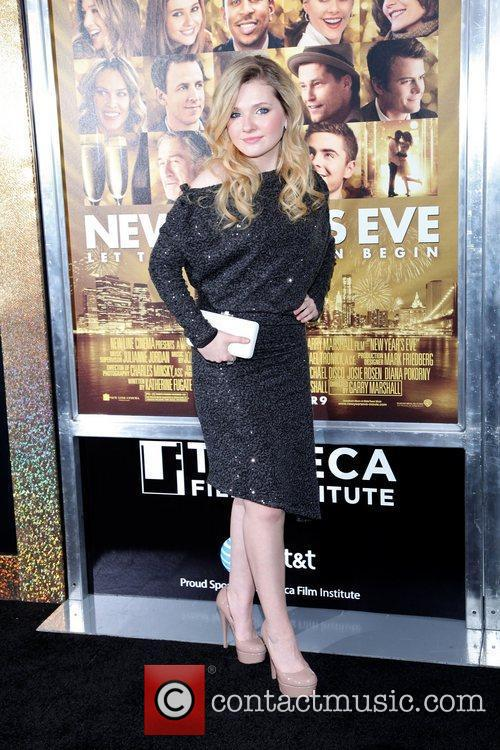 Abigail Breslin and Ziegfeld Theatre 11