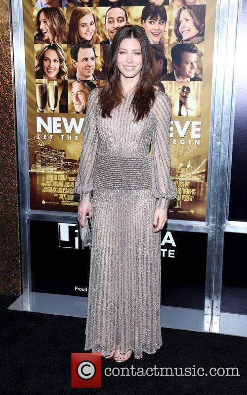 Jessica Biel and Ziegfeld Theatre 16