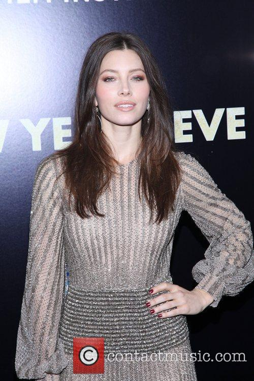 Jessica Biel and Ziegfeld Theatre 20