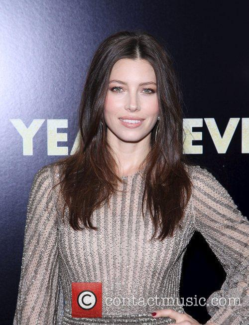 Jessica Biel and Ziegfeld Theatre 14