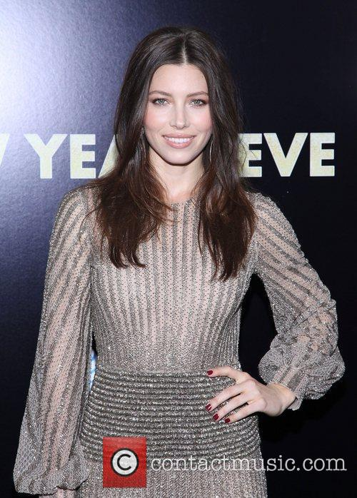 Jessica Biel and Ziegfeld Theatre 11