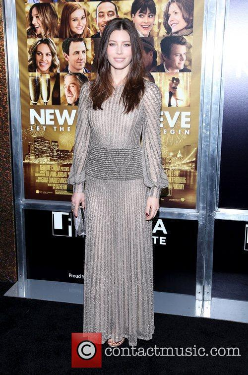 Jessica Biel and Ziegfeld Theatre 13