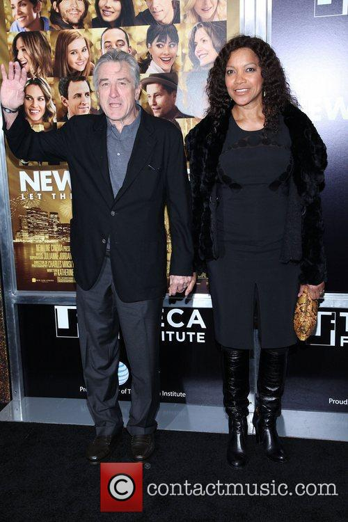 Robert De Niro, Grace Hightower and Ziegfeld Theatre 1