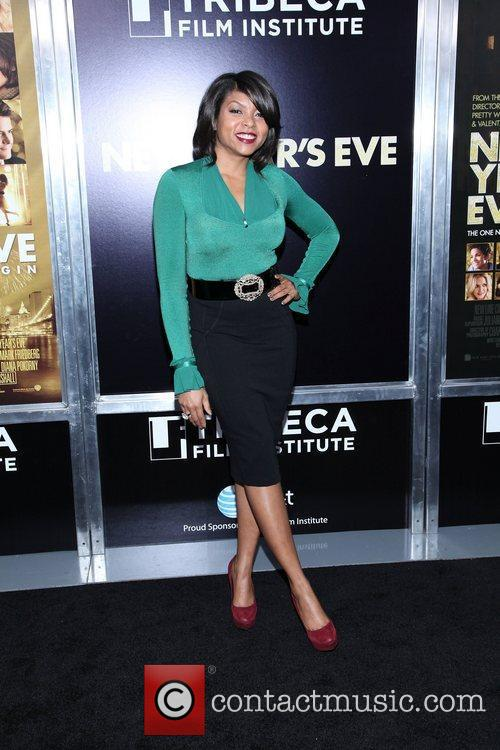 Taraji P Henson and Ziegfeld Theatre 15
