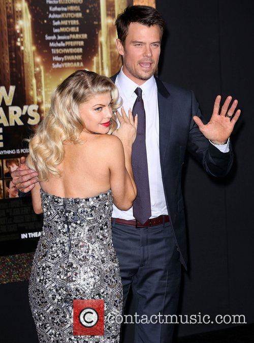Josh Duhamel, Fergie and Grauman's Chinese Theatre 5
