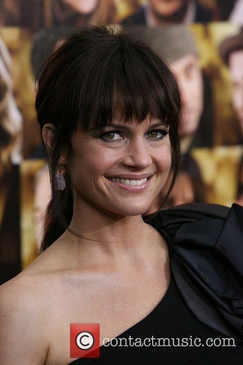 Carla Gugino and Ziegfeld Theatre 1