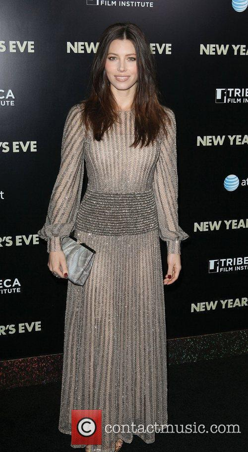 Jessica Biel and Ziegfeld Theatre 9