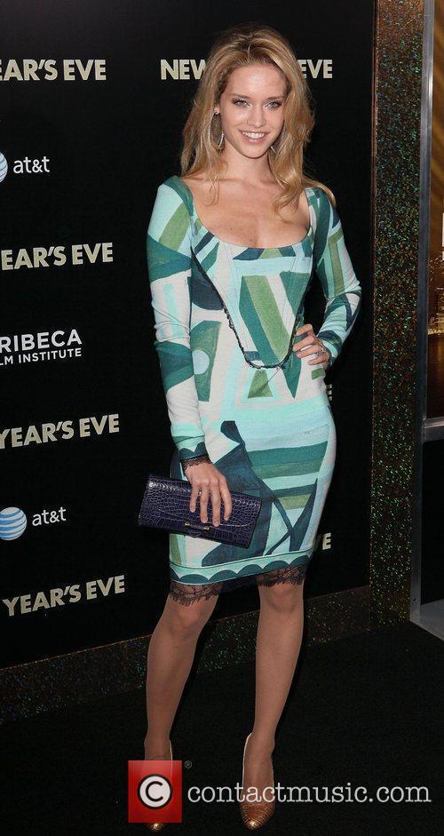 Model Julie Ordon,  New York premiere of...