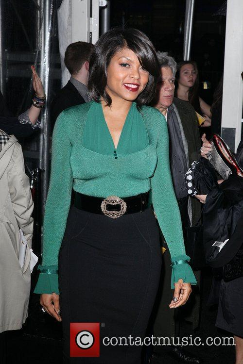 Taraji P Henson and Ziegfeld Theatre 4