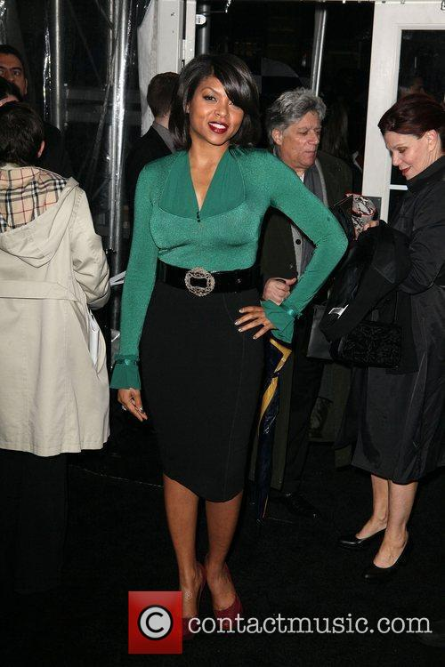 Taraji P Henson and Ziegfeld Theatre 6