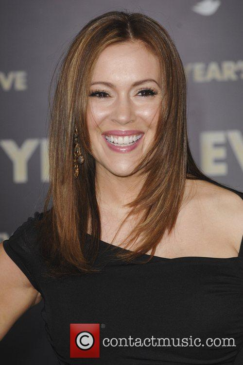 Alyssa Milano and Grauman's Chinese Theatre 5