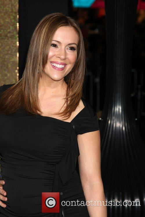 Alyssa Milano and Grauman's Chinese Theatre 9