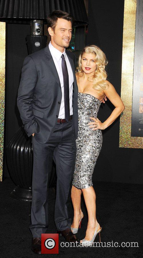 Josh Duhamel, Fergie and Grauman's Chinese Theatre 11