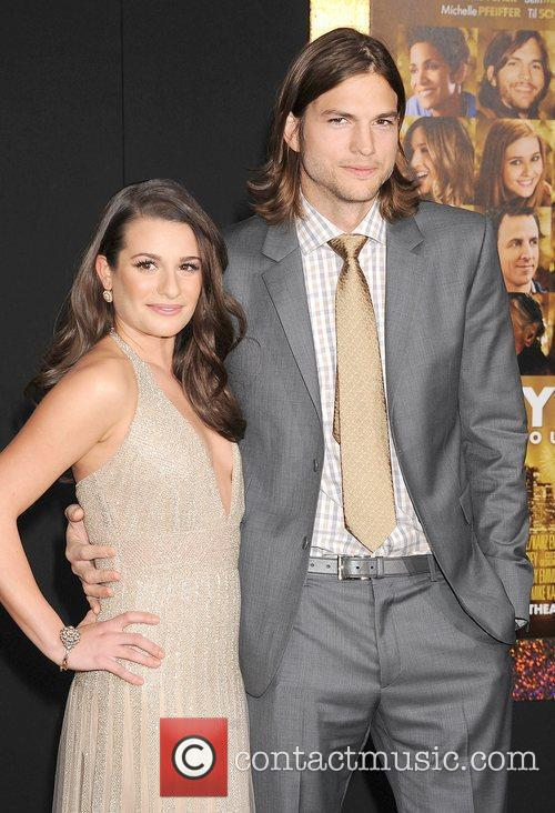 Lea Michele, Ashton Kutcher and Grauman's Chinese Theatre 11