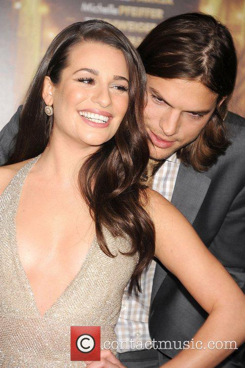Lea Michele, Ashton Kutcher and Grauman's Chinese Theatre 12