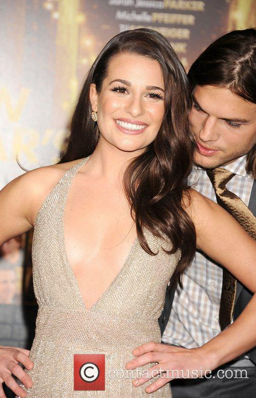 Lea Michele, Ashton Kutcher and Grauman's Chinese Theatre 1