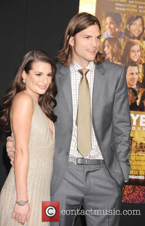 Lea Michele, Ashton Kutcher and Grauman's Chinese Theatre 10