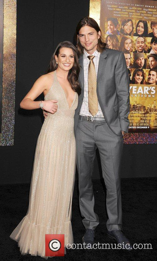 Lea Michele, Ashton Kutcher and Grauman's Chinese Theatre 6